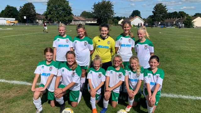 Under 12 Girls White