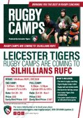 Tigers Rugby Camps at the Sils! - Calling ALL Mini & Juniors