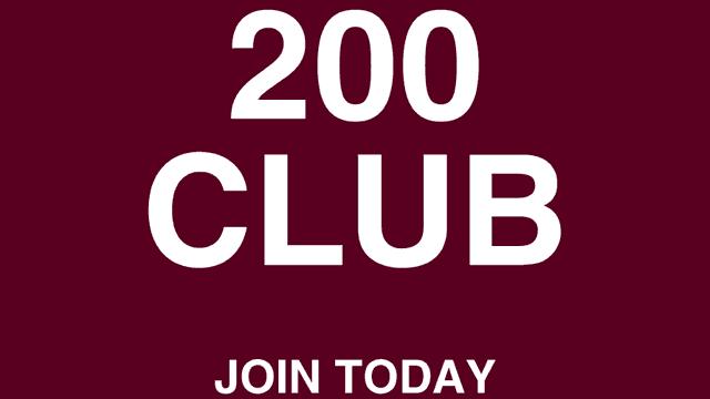 September 200 Club Draw