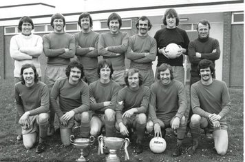 Lancs & Cheshire Rhodes Cup Winners 1976