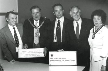Official Opening of salteye 1979