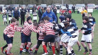One win and two defeats for under 10's