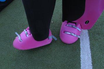 Phoebe's new kickers