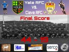Yate RFC versus Cleve 3s