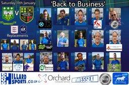 Yate RFC away at Whitehall 2s