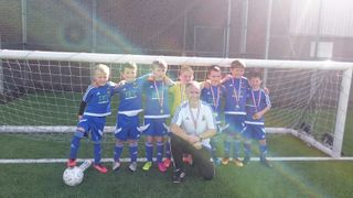 Midsomer Norton Youth Football League U7 tournament