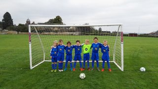 Wells City U8s 2017/2018 new home kit sponsored by Barbers Cheese