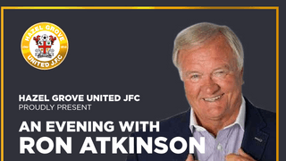 An evening with Ron Atkinson....
