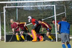 Ricky 1st XI produce second half fightback against Blueharts
