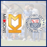 MK Dons 2-2 Oxford City