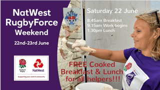 NatWest Rugby Force weekend - 22nd & 23rd June 2019
