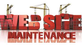 Annual Website maintenance...