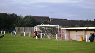 Ollerton Town_Bad light stopped play!