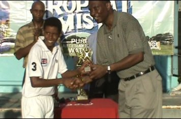 BANKS DIH TROPICAL MIST PEEWEE - SHAMAR DESOUZA - BEST BATSMAN OF FINAL
