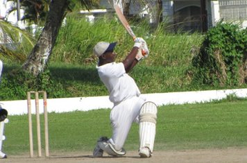 CLITUS JOHNSON OF DCC ON THE GO DURING THE BRAINSTREET U-15 FINAL