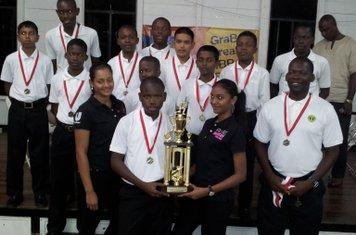 DEMERARA CRICKET CLUB - DESINCO UNDER-13 CHAMPIONS 2011