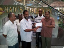 HADI'S WORLD INC - CITY MALL 1ST DIVISION 2-DAYS COMPETITION 2013-14 - POINTS TABLES