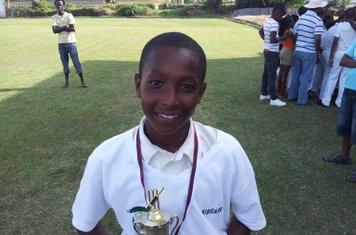 BEST FIELDER IN FINAL 2014-15 - JOSHUA GARDNER
