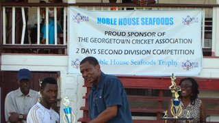 NOBLE HOUSE SEAFOODS 2ND DIV 2-DAYS COMPETITION