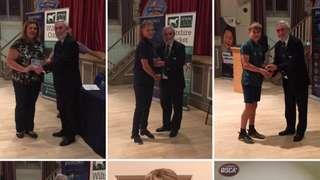 Swindon CC pick up awards at the Wiltshire Cricket presentation evening