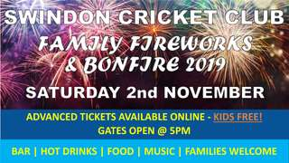 Family Fireworks and Bonfire Night 2019