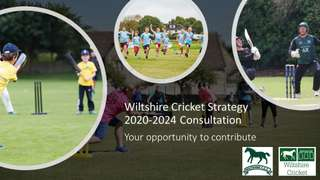 Wiltshire Cricket Strategy 2020-2024 Consultation - Your opportunity to contribute
