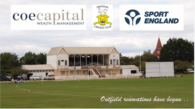 Coe Capital Wealth Management & Sport England support major outfield project