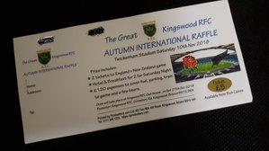 The Great Kingswood RFC Raffle