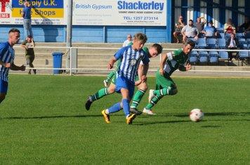 Morgan James passing forwards.