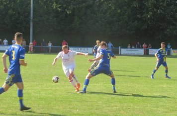 Danny North in action for Lincoln United.