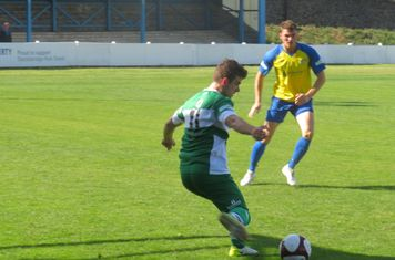 Jack Wightwick on the ball.