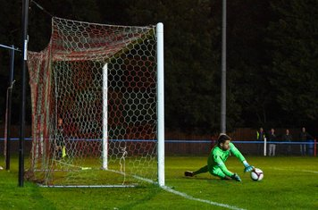 Danny Haystead's penalty save.