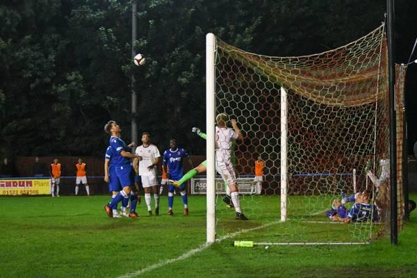 Goalmouth action.