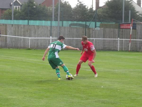 Jack Wightwick taking on Conor Hughes.