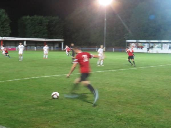 Bradley Beatson in action for Sheffield FC.