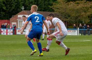 Jack Wightwick just after making a pass.
