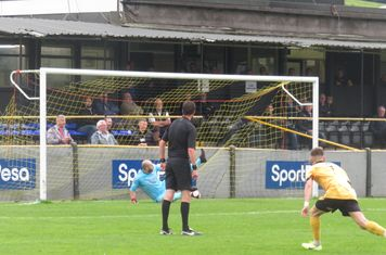 Ryan Robbins' goal from a penalty.