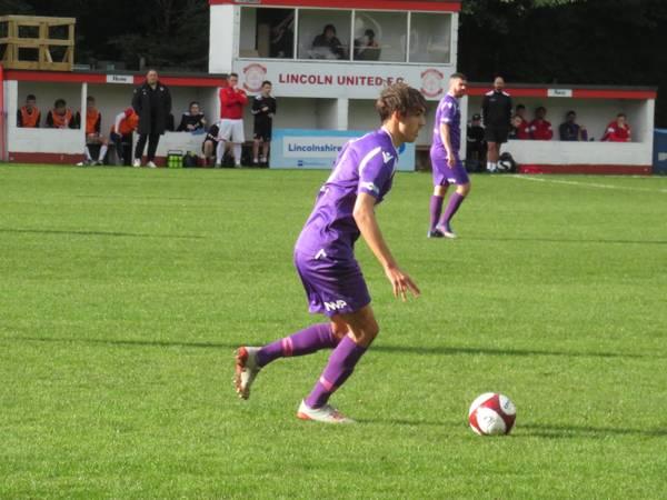 James Butler on the ball.
