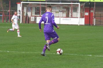 Kyle Diskin on the ball.