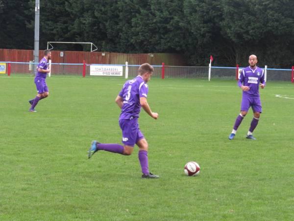 Alex Morris on the ball.