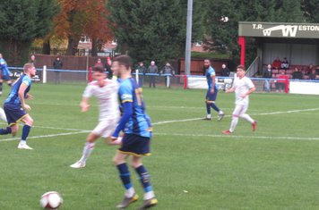 Jamie Walker in action for Ilkeston Town.