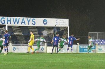 Jamie Goddard's goal.