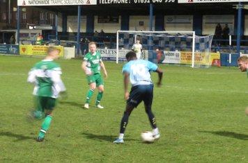 Jordan Adebayo-Smith on the ball.