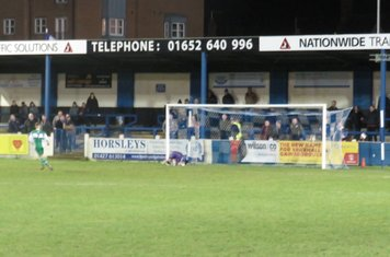 Charlie West's penalty that was scored.