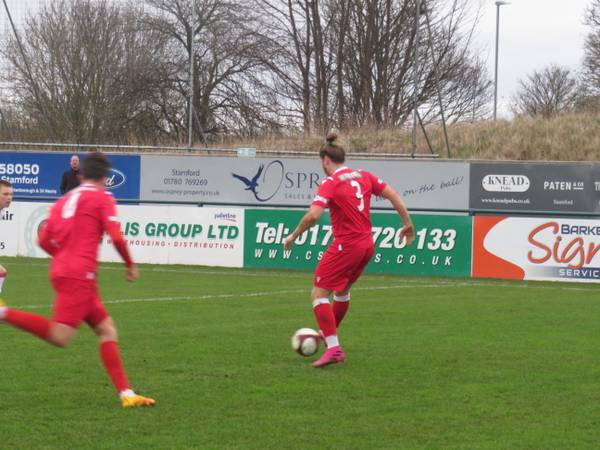 Ollie Brown-Hill on the ball.