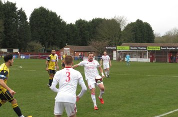Johnathan Williams in action for Lincoln United.