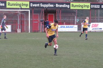 Nyle Blake with space on the ball.