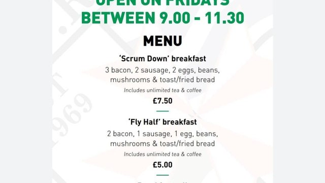 Chew Valley RFC Cafe