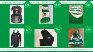 CVRFC Christmas Merchandise