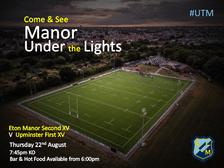 Eton Manor Under The Lights